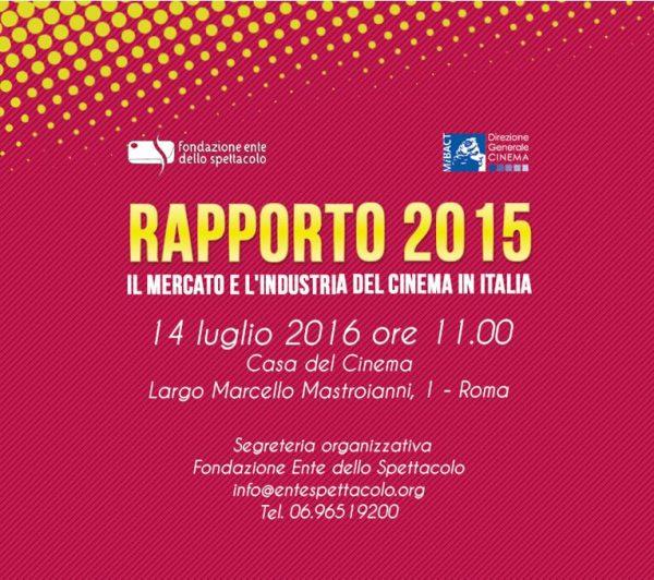 Mercato e industria del cinema in Italia