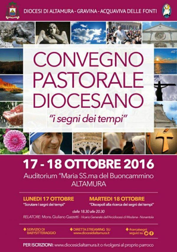 Convegno pastorale social e in streaming